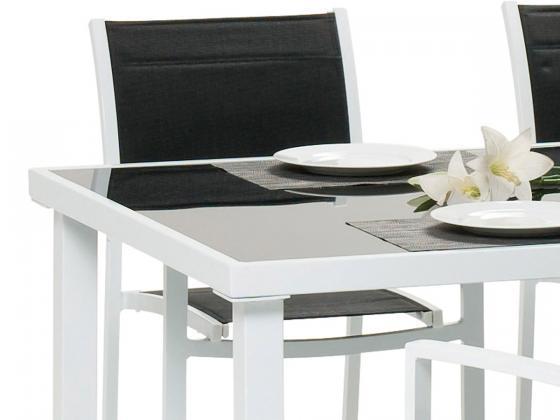6 tlg gartenm bel aluminium komfort plus 2 wahl aluminium gartenm bel design shop. Black Bedroom Furniture Sets. Home Design Ideas