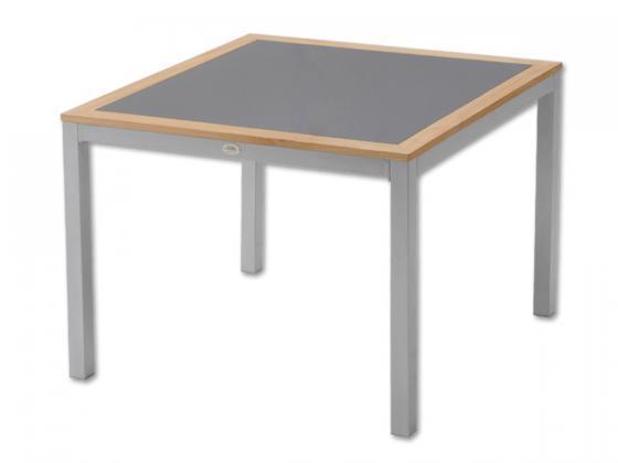Gartenmobel Outlet Genderkingen Offnungszeiten : Aluminium Tisch mit Glasplatte Tunis  Aluminium Gartenmöbel  Design