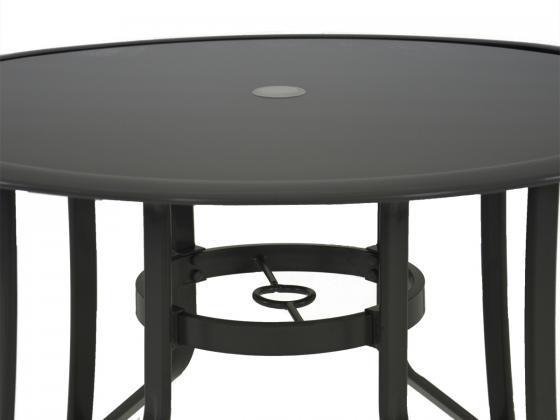 aluminium tischgruppe zara 5 teilig aluminium. Black Bedroom Furniture Sets. Home Design Ideas
