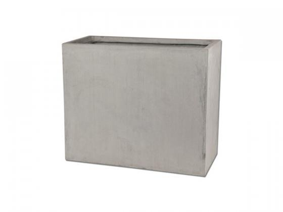 Blumentopf pflanzentopf ma e ca 60x30x50 cm grau for Blumentopf grau