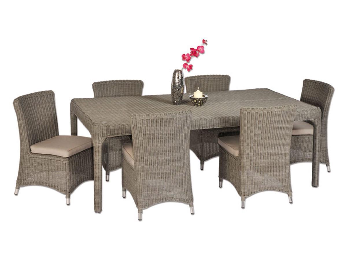 rattan essgruppe grau neuesten design kollektionen f r die familien. Black Bedroom Furniture Sets. Home Design Ideas