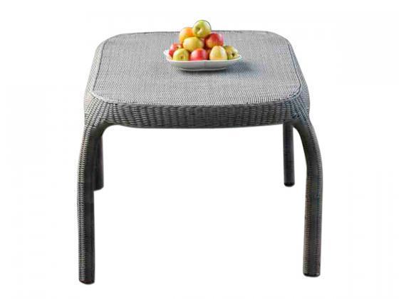 essgruppe rio aus polyrattan 7 tlg inkl polster grau essgruppen design shop. Black Bedroom Furniture Sets. Home Design Ideas