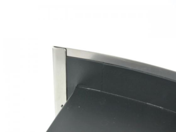 Dekosteine Wand Preis : Ethanol Wandkamin Edelstahl Gehäuse & pulverbeschichtete Stahlwand