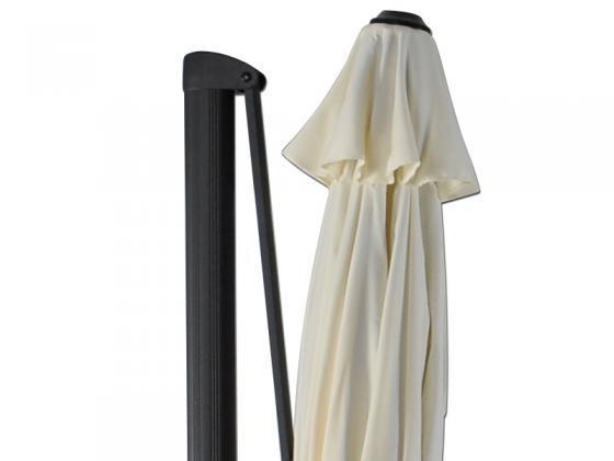sonnenschirm ampelschirm durchm 300cm vanille sonnenschirme design shop. Black Bedroom Furniture Sets. Home Design Ideas