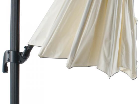 sonnenschirm ampelschirm durchm 330cm vanille. Black Bedroom Furniture Sets. Home Design Ideas