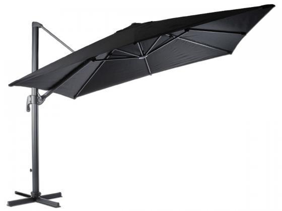 sonnenschirm madrid 2 300x300 cm schwarz. Black Bedroom Furniture Sets. Home Design Ideas