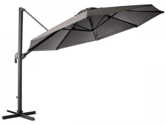 sonnenschirm milano 1 330 cm taupe sonnenschirme design shop. Black Bedroom Furniture Sets. Home Design Ideas