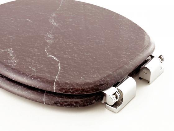 toilettendeckel wc sitz wc deckel stein schwarz soft. Black Bedroom Furniture Sets. Home Design Ideas