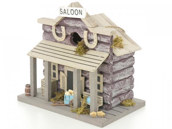 vogelhaus nistkasten futterhaus saloon vogelh user. Black Bedroom Furniture Sets. Home Design Ideas